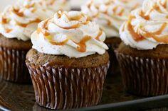 Pumpkin Spice Latte Cupcakes...via Annie's Original