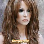Peluca Larga Color Castaño Dorada y Destellos Color Castaño, Red Wigs, Short Hair Styles, Templates, El Dorado, Hair Wigs, Colors, Bob Styles, Short Length Haircuts