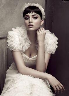 bridal gown. #wedding