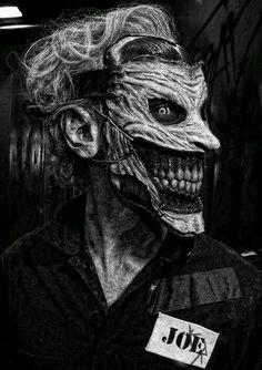 ubernoir: New 52 Joker by the Cinema Makeup School Sweet Joker