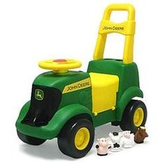 John Deere Sit and Scoot Activity Tractor