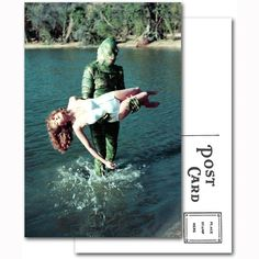 Creature From the Black Lagoon Postcard
