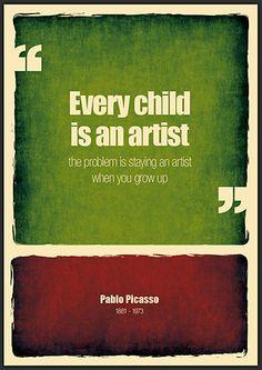 Toda criança é um artista!