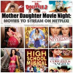 Mother Daughter Movie Night on Netflix Movies To Watch Comedy, Movie To Watch List, Series Movies, The Daughter Movie, Daughters Of The King, Disney High Schools, Seven Years Old, High School Musical, Funny Movies