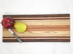 Maple Walnut and Purple Heart Great gift Cherry Perfect housewarming gift or wedding gift! Wood Cheese SlicerCutter