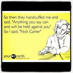 Nick Carter!