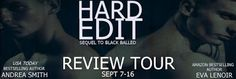 """Hard Edit by Andrea Smith and Eva LeNoir Book Spotlight   Title: Hard Edit  Series: Black Balled #2  By: Andrea Smith & Eva LeNoir  Publication Date: September 4 2016  Genre: MM Romance  It's all fun and games until egos get hurt. After a year of a seemingly happily-ever-after Troy Babilonia throws a curve ball that smacks Larson Blackburn right in the head. When Troy's debut novel """"Bridge to Lonely"""" threatens to overshadow Larson's own success inviting a past shadow into the light of their…"""
