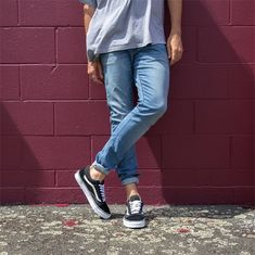 9619f64dcec41d Can t beat a classic with the Vans  Old Skool  sneakers in black
