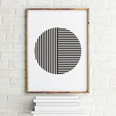 DIY wall art geometric circle