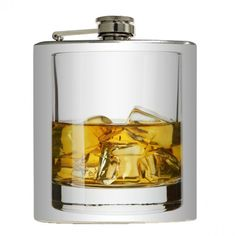 ON THE ROCKS Liquid Courage Flasks™ are brand new stainless steel flasks that hold six ounces of your favorite liquor. These hip flasks fit perfectly in your pocket or purse. Flasks make awesome gifts for any occasion...or for yourself! Price-$20. ESTIMATED SHIP TIME 2-5 days