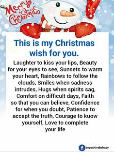 Merry Christmas Christmas Quotes, Christmas Wishes, Merry Christmas, Popular Quotes, Wishes For You, Kiss You, Laughter, Funny Quotes, Faith