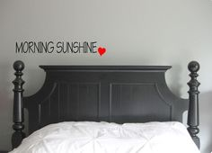 Morning Sunshine. - Wall decal, cute wall art, handmade gift