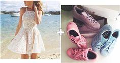 Just Gra: Vestido + Tênis