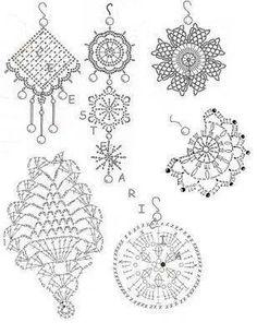 ตัวอย่างการถัก และแบบ - wijittra amadothailand - Álbuns da web do Picasa...earrings diagrams!