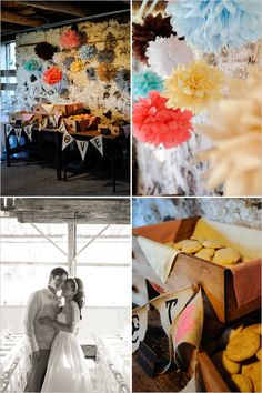 Anthropology-inspired wedding that was the perfect combination of comfortable & organic, yet chic