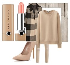 """beige is fabulos"" by andreea-andreuta-andri ❤ liked on Polyvore featuring OPUS Fashion, Marc Jacobs, Zara and Uniqlo"