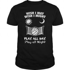Cool Volleyball all day  0516 Shirts & Tees