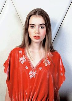Bell Sleeves, Bell Sleeve Top, Lily Collins, Girl Crushes, T Shirts For Women, Hair, Tops, Character, Fashion