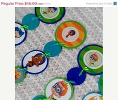 SALE EXTENDED New Bubble Guppies Birthday by YarnHeadbyAllison, $13.50