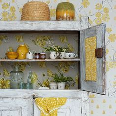 Cottage kitchen cupboard | Country storage ideas | Housetohome.co.uk