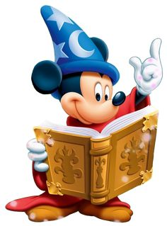 Sorcerer Mickey Clipart