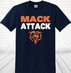 Chicago Bears Khalil Mack Attack Unisex Heavy Blend Crewneck Sweatshirt