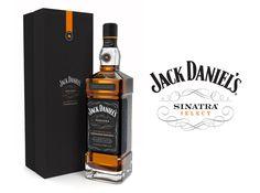 I love that the bottle is slimmer than the normal Jack Daniels bottle. Jack Daniel's Sinatra Select by Cue via The Dieline Jack Daniels, Jack And Jack, Whisky, Chocolates, Franck Sinatra, Bottle Design, Packaging Design Inspiration, Liquor, The Selection