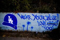 Los Angeles Dodger Graffiti
