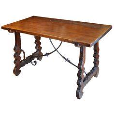 Beautiful 17th Century Spanish Table Desk Dining