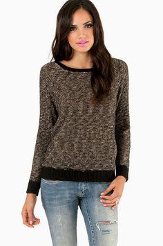 Marlena Marled Sweater ~ TOBI