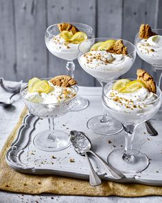 Serve this citrusy, creamy light-as-air mousse in stemmed glasses for an easy, yet impressive dinner party dessert.