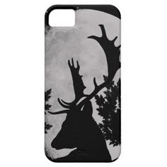 Wild Life at Night Cover For iPhone 5/5S