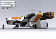 Greg Broadmore District 9 Concept Art