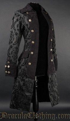 Pirate Princess Coat Gothic Kleider, Outfit Ideen, Kleidung Accessoires,  Jacken, Steampunk Kostüm