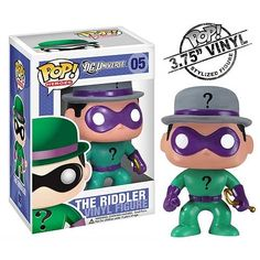 DC Universe Pop! Vinyl Figure Riddler - Funko Pop!