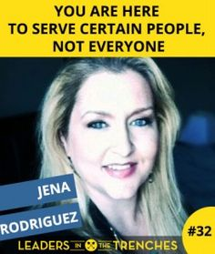 Read that title again…There is something special in that title.  Jena Rodriguez shares with us about going beyond the target market…the idea behind the IT factor.  Jena discovered this in her journey to her current business.  She understands the entrepreneur and their journey through the hard times to success.  In fact, Jena has even seen her own hard times and that is what makes her words even more important.