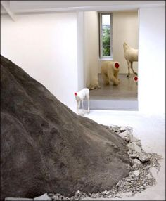 Huang Yong Ping   Critique   Bugarach   Paris 6e. Galerie Kamel Mennour