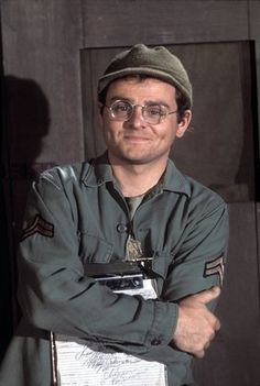 """4077th M*A*S*H  Corporal Walter 'Radar' Eugene O'Reilly.  When he finally left the show to """"go home"""" had me in tears. Didn't get a proper goodbye cause wounded came"""