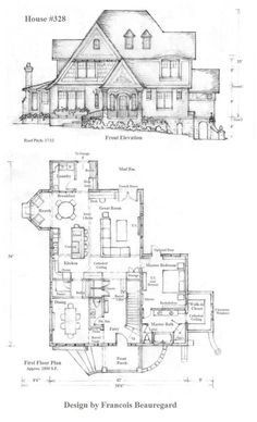 House 328 Plan by Built4ever on DeviantArt