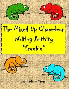 Eric Carle - The Mixed Up Chameleon Writing Activity