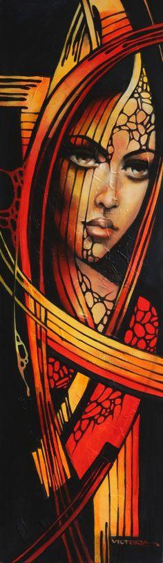 336.jpg (580×2000) La pintora Victoria Stoyanova, de Bulgaria. Cada persona tiene su ideal sobre la belleza femenina.