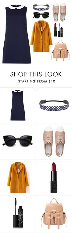 """God Help The Girl- Eve"" by rosatardis ❤ liked on Polyvore featuring Sugarhill Boutique, FitFlop, NARS Cosmetics and Aspinal of London"