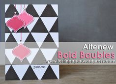 Create your own bold stamped background this Christmas. For more information you can visit the Altenew blog here, http://altenewblog.com/