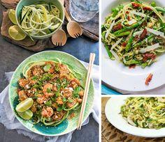 Courgetti is dé pastavervanger bij uitstek. Niet alleen erg lekker, maar ook een pak gezonder en beter voor de lijn dan gewone pasta. Heerlijk genieten zonder de calorieën, wat wens je nog meer?! Deze vijf receptjes zijn alvast het proberen waard.