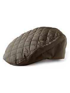 Quilted Driving Cap