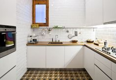 8 Space-Saving Hacks for Small Kitchens
