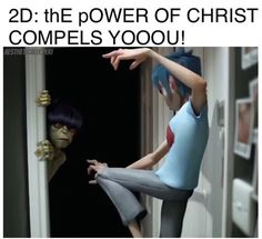 Okay but Murdoc legit needs an exorcism im tired of his pickle antics ffs