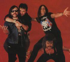 Lemmy , Phil C , Wurzel & Phil T. MOTORHEAD