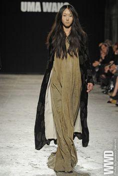 A New Designer Named Wang Uma Wang RTW Fall 2012
