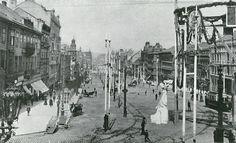 Old Pictures, Old Photos, History Photos, Vintage Photography, Czech Republic, Street View, Architecture, City, Prague